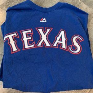 Texas Rangers Game Day tee